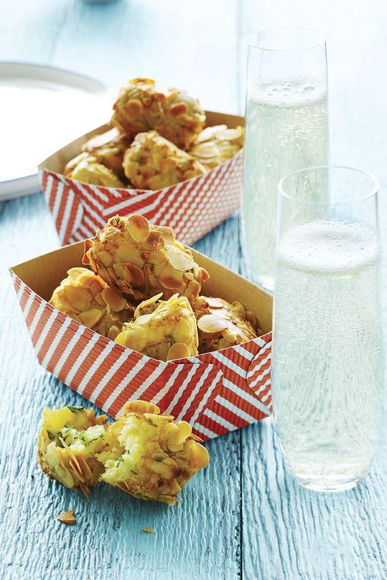 Croquettes de pommes de terre au fromage d'Oka #recette #TchinTchin #OrigineQuebec