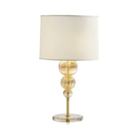gold bauble lamp