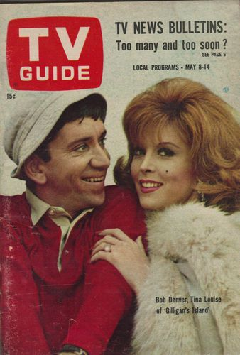 Gilligan's Island Bob Denver and Tina Louise...we all wanted to be Ginger...and we were all Mary Ann...alas...