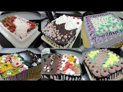 تزيين كيك مجموعة تورت وأفكار جديدة لتزيين التورتة باسلوب احترافى وسهل للمبتدئين Youtube Desserts Cake Breakfast