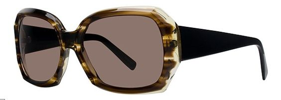 New Unisex Vera Wang (Mithril) Sunglasses - Retail $253