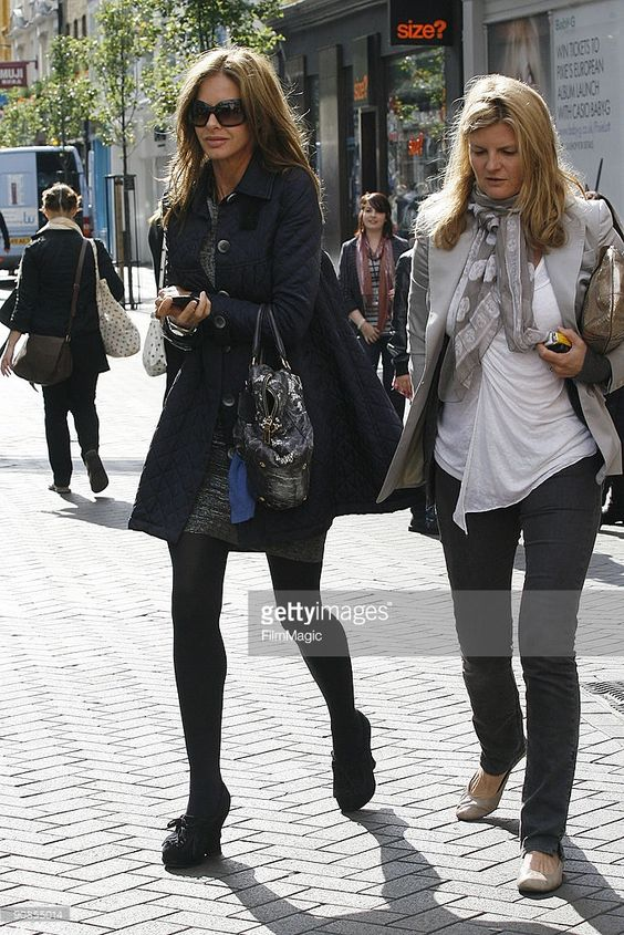 Trinny Woodall and Susannah Constantine sighting on September 16 2009 in London England