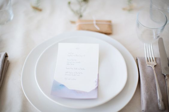 Menu - from Sunday Suppers