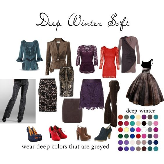 """""""Deep Winter Soft"""" by expressingyourtruth on Polyvore:"""
