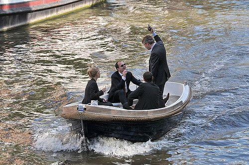 luxe sloep huren in Amsterdam