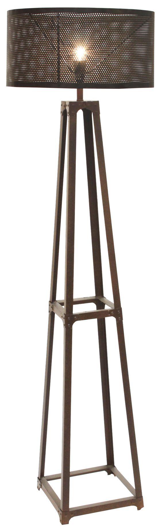 Furniture Online & Decorating Accessories | Industrie Metal Floor Lamp | Interiors Online Furniture $260.00
