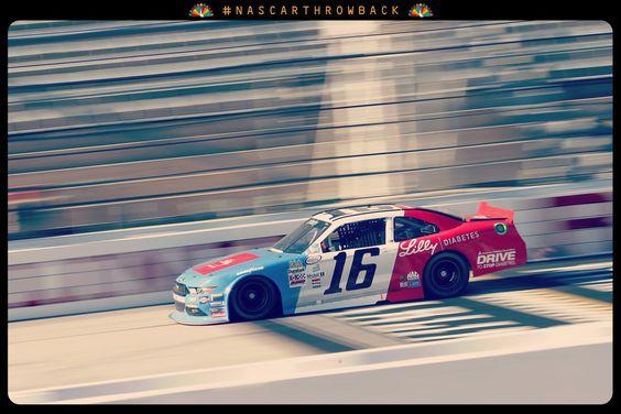 Greg Biffle throwback #16 car