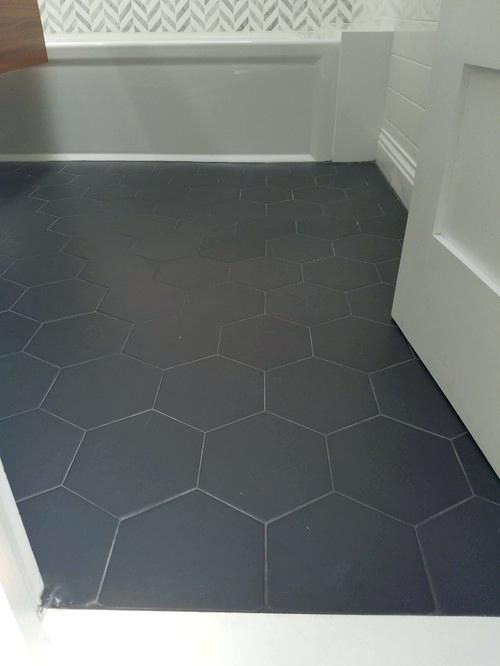 Hexagon Tile Grey Floor Tiles