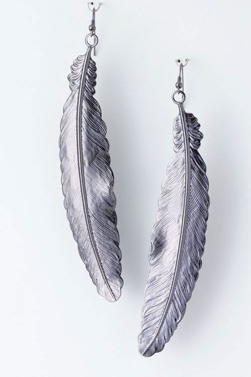 Feather Earrings - I used to have some that were, admittedly, not as nice as this! These would replace them perfectly.