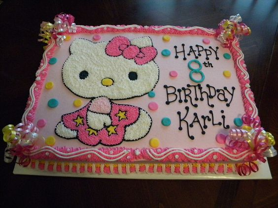 Cake Hello Kitty Pink : Pink Hello Kitty Cake by Cakes By Jen, via Flickr Cakes ...