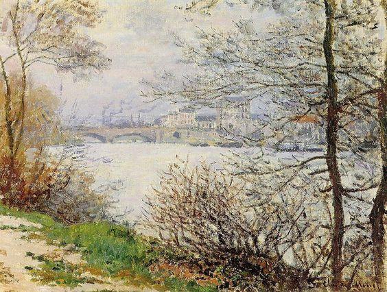 La Seine à la Grande Jatte (C Monet - W 454),1878.