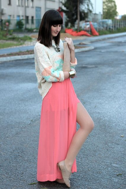 chiffon and oxfords<3