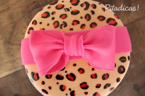 Cake - Bolo Decorado ~ Pitadicas!