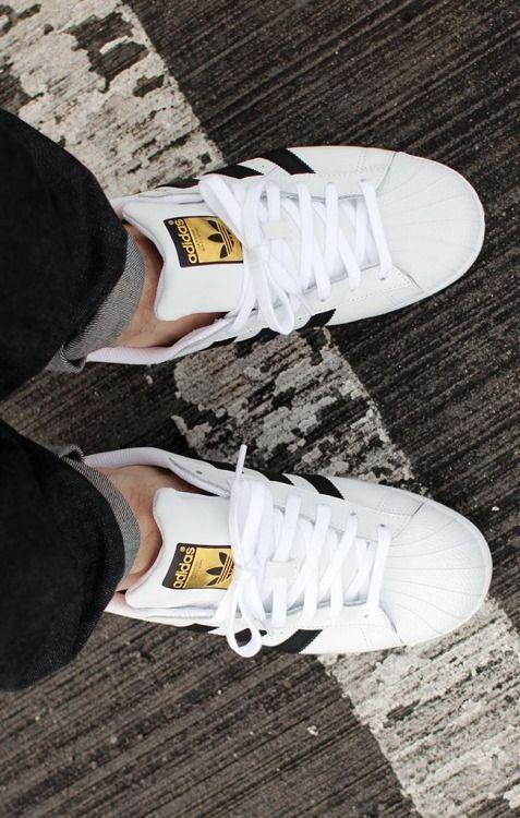 Superstar Adidas On Feet
