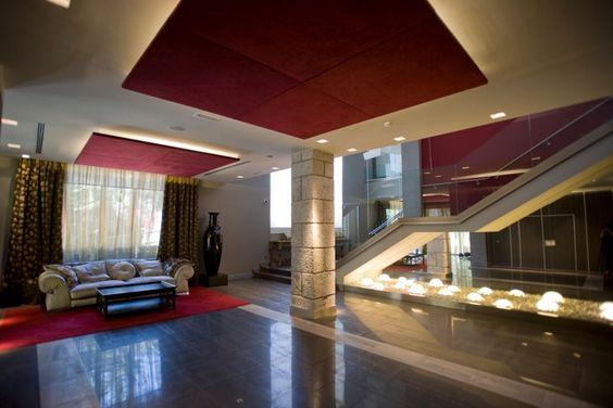 Detalle del Hall interior #Finca #Fuentepizarro