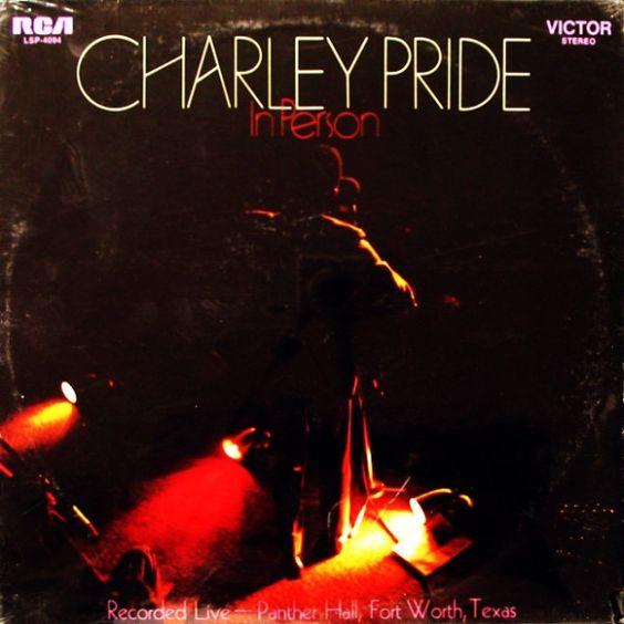 "Charley Pride, Vinyl, 1969   ""In person"""