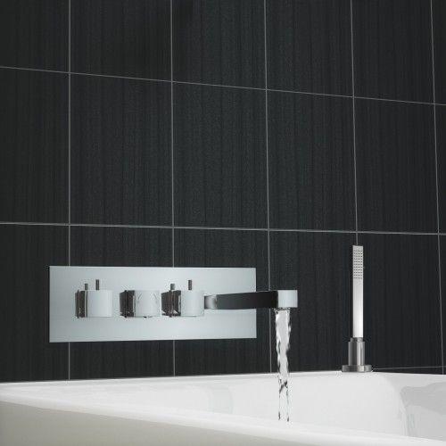 Premier Chrome Thermostatic Bath Shower Mixer In 2020 Bath Shower Mixer Bath Shower Mixer Taps Shower Mixer Taps