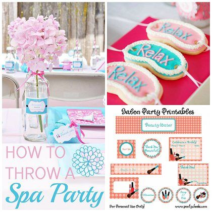 """How to Throw a Fabulous, Kid's """"Spa Party"""" 