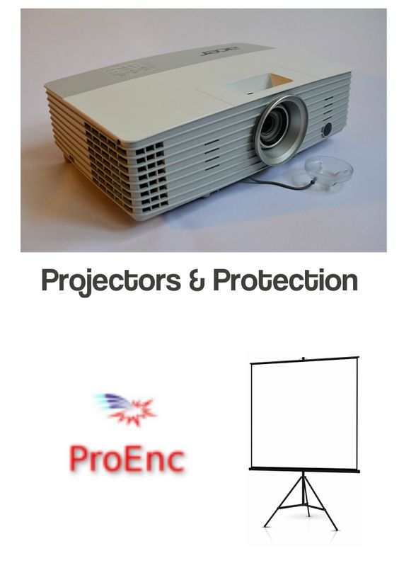 projector enclosures outdoors