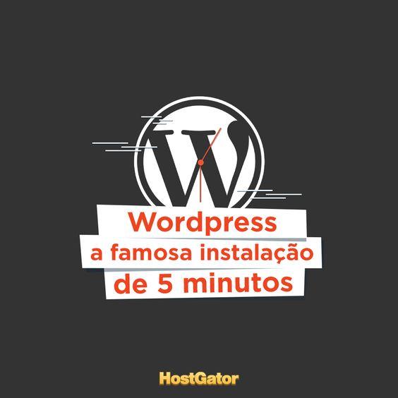 Decidiu construir seu blog utilizando o Wordpress? Então confira o passo a passo para fazer a instalação, além de dicas e informações úteis. Acesse o post