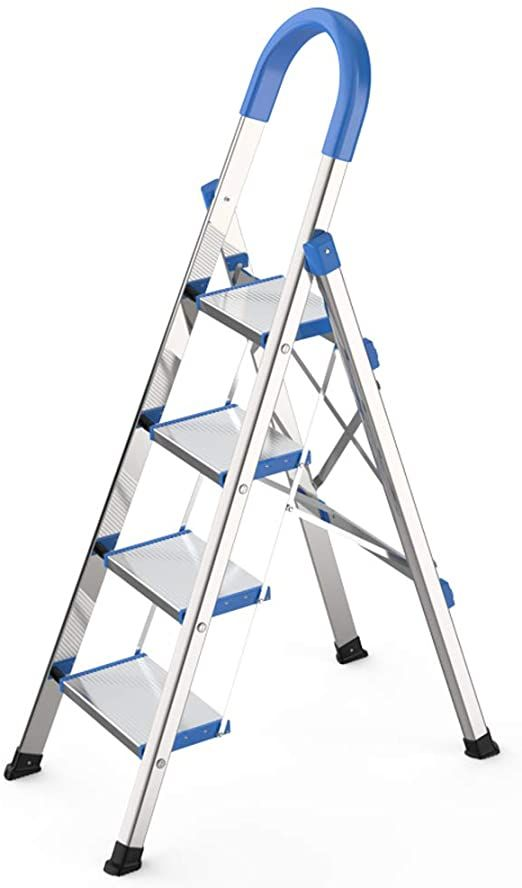 4 Step Ladder Folding 3 Step Step Stool Ladders With Anti Slip