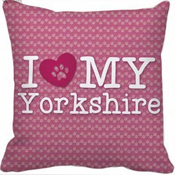 Capa de almofada - I love my Yorkshire