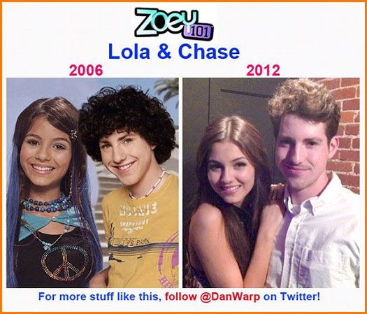 then and now zoey 101 wwwimgkidcom the image kid has it