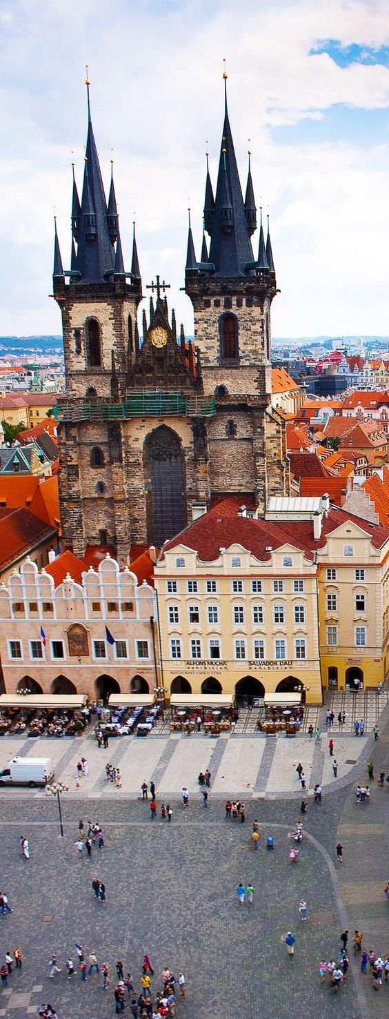 The Gothic Tyn Church in Prague, Czech Republic | 22 Reasons why Czech Republic must be in the Top of your Bucket List: