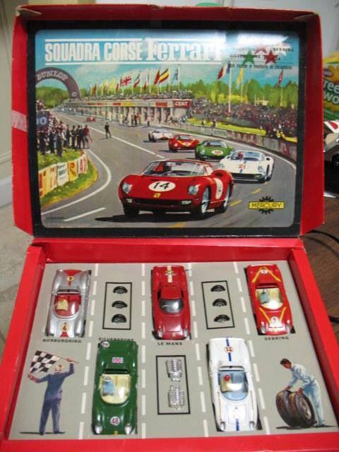 Squadra Corse Ferrari gift set (Mercury)   MB Toys   Pinterest ...