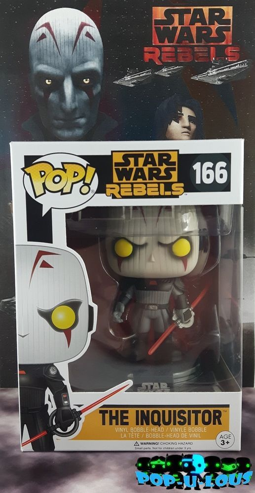 Vynil Star Wars Rebels The Inquisitor Funko Pop
