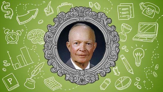 Dwight Eisenhower's Best Productivity Tricks I Thorin Klosowski