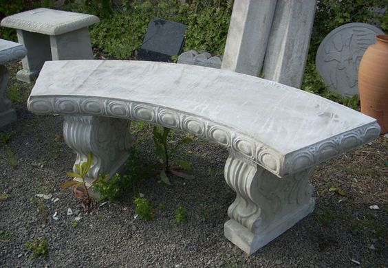 Garden Benches Concrete Garden And Benches On Pinterest
