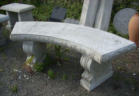 Garden Benches Concrete Garden And Benches On Pinterest 400 x 300