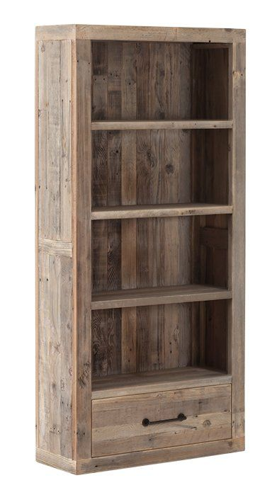 Hounslow Reclaimed Wood Bookcase Reclaimed Wood Bookcase Wood