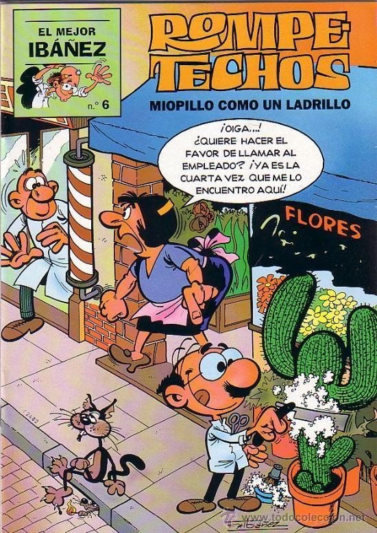 EL MEJOR IBAÑEZ Nº 6 ROMPETECHOS  ED. B