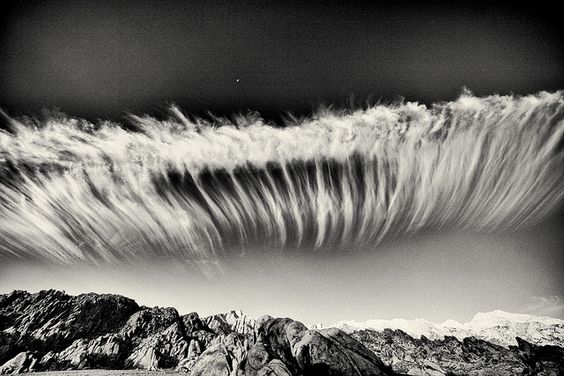 whitney cloud show by david haggard, via Flickr