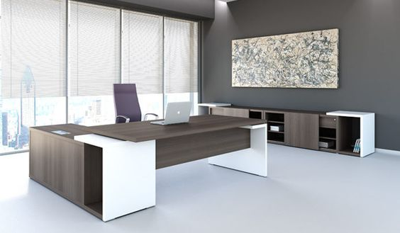 Escritorio ejecutivo oficinas pinterest escritorios for Escritorio ejecutivo