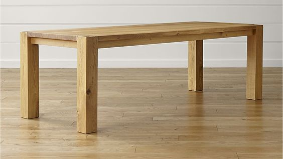 "Big Sur Natural 90.5"" Dining Table in Dining Tables 