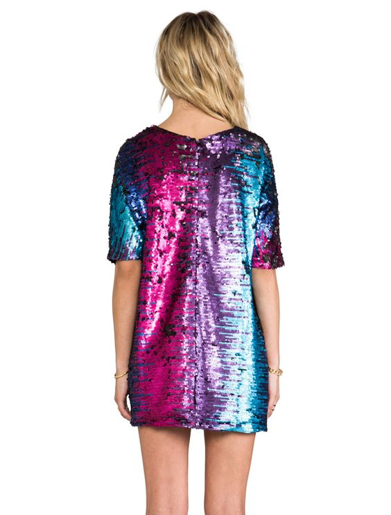 colorful sequins