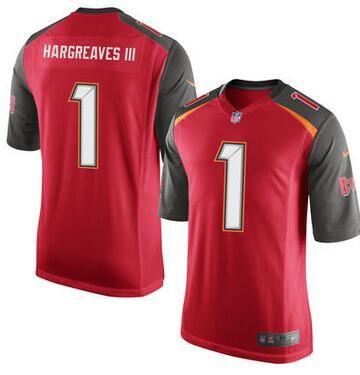 Tampa Bay Buccaneers Vernon Hargreaves III Nike Red Elite 2016 ...