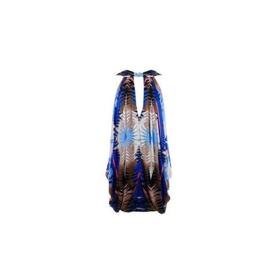 GUCCI Jersey 80s Geometric Print Drape Dress (€230) ❤ liked on Polyvore featuring dresses, assorted, eighties dress, gucci dress, jersey dress, rayon dress and gucci