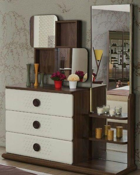 70 Wooden Dressing Table Designs For Modern Bedroom Furniture Sets