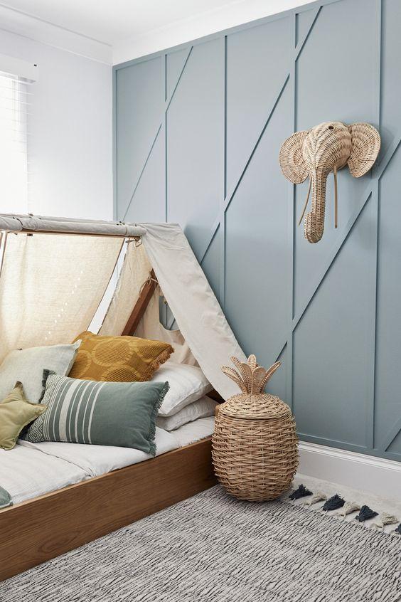 House 11 - Colour Me Hamptons Renovation, Kids Room, Kids Beds, Feature Walls, Colours, Boys Room, Transformation