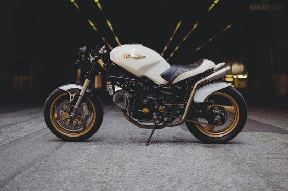 """Pandora"" Ducati Monster 750 by Motolady   Bike EXIF"