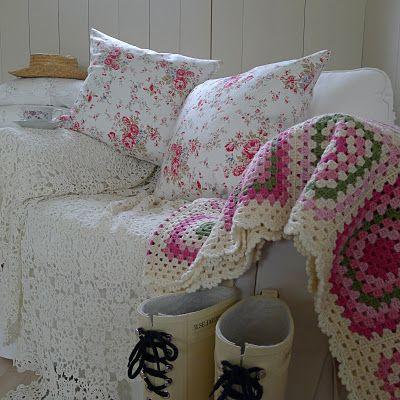 Gasp. the white crochet blanket.