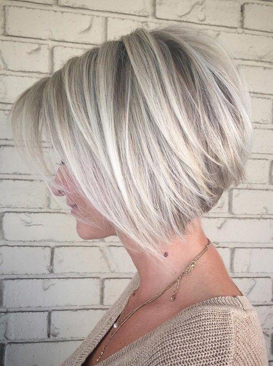 31 Gorgeous Platinum Blonde Short Bob Haircuts For 2018 Coupe De