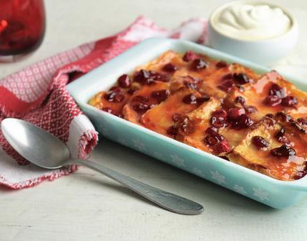 This zesty take on bread and butter pudding makes a tasty alternative to Christmas pudding