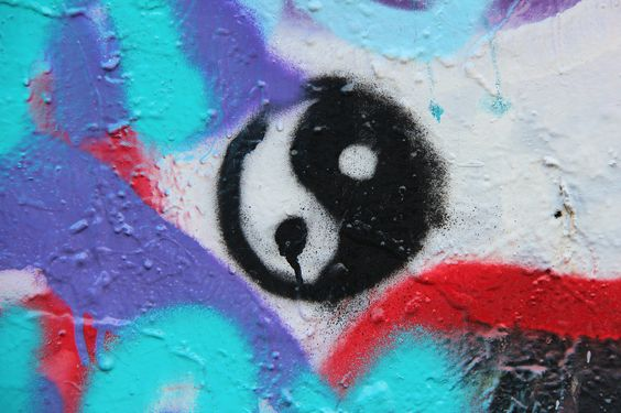 austin // texas // graffiti: the yin and the yang of it     http://hopecampaign.org/hopeprojects/hope-outdoor-gallery/