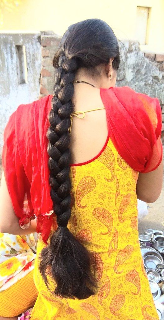 Thick Beautiful Braid In 2020 Long Indian Hair Indian Long Hair Braid Braids For Long Hair
