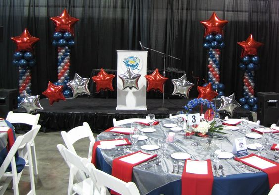 Eagle coh scouts eagle project court of honor for Award ceremony decoration ideas